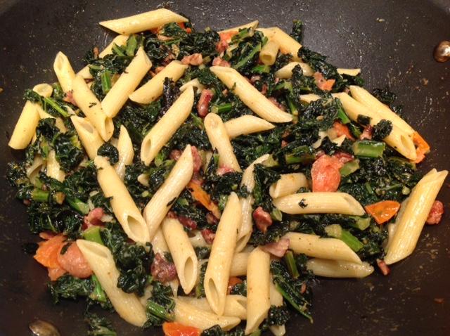 pasta met cavolo nero - koken met karin