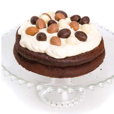 Chocoladetaart voor Pasen