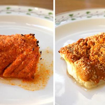 Tandoori-vis uit de oven