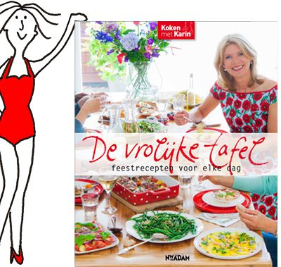 Mijn nieuwe kookboek: De vrolijke tafel