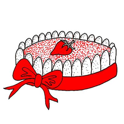 aardbeien charlotte taart
