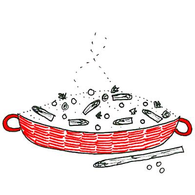 asperge risotto