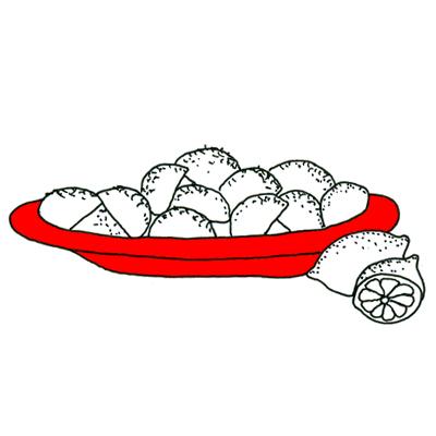 Citroenaardappels uit de oven