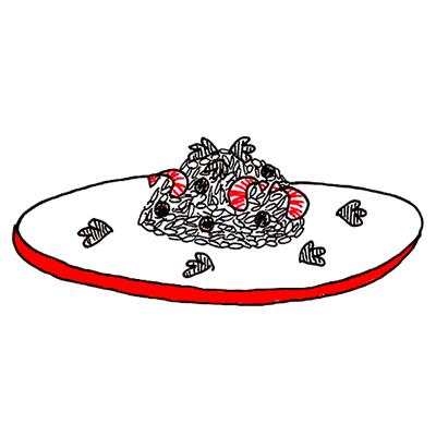 garnalen risotto