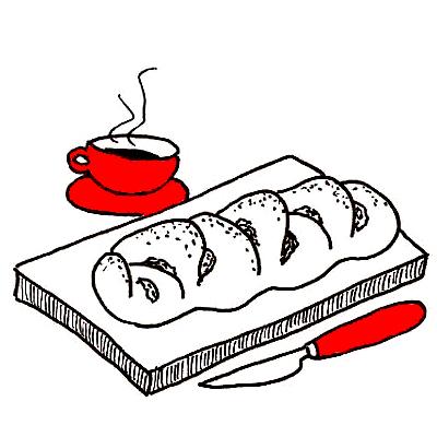 Noors appel-kaneelbrood (Kringler)