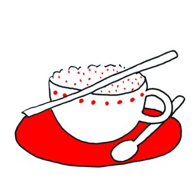 Romig paprikacappuccinosoepje