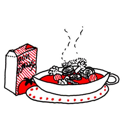 Supersnelle tomaten/groentensoep