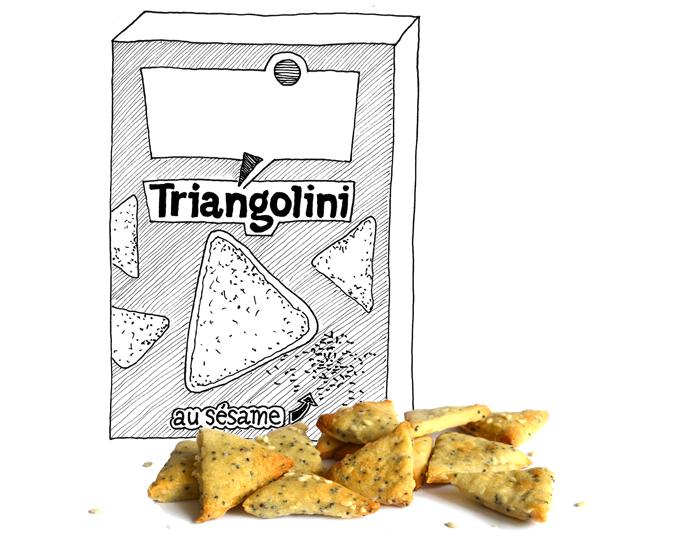 triangolini-sesamzoutjes