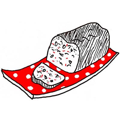 Wortelcake met rozijnen en walnoten