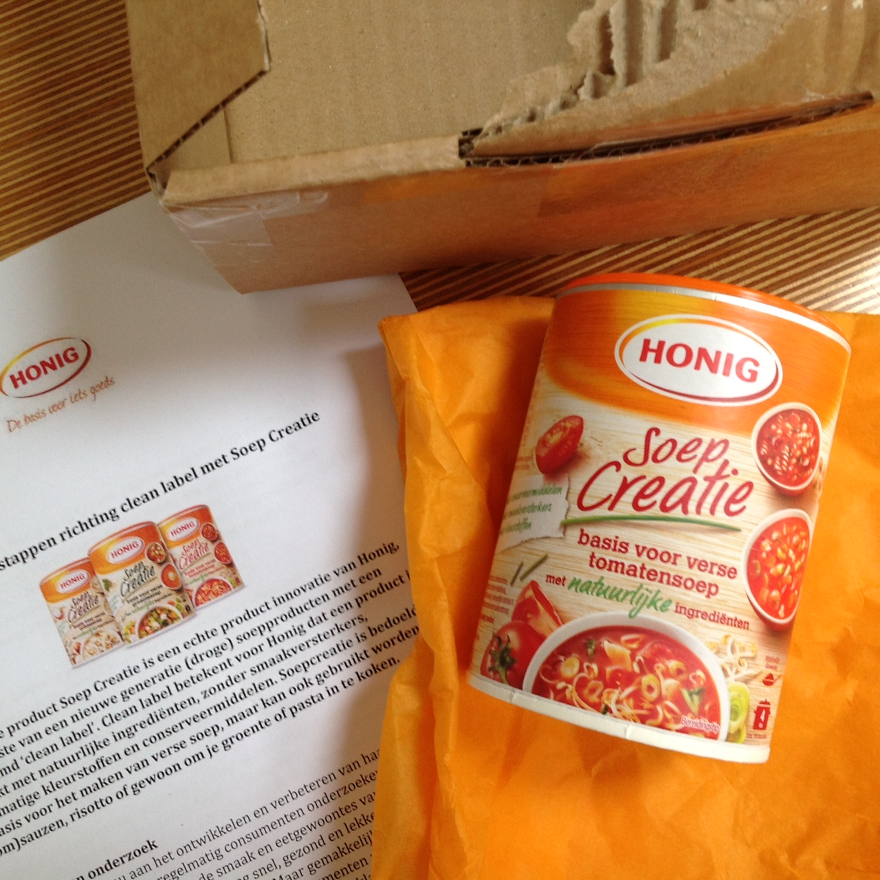 honig-soep-creatie