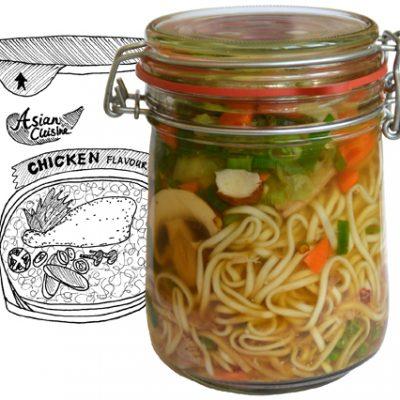 Noedelsoepje (in a jar!)
