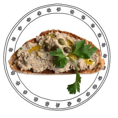 Bonenpuree (voor op brood)