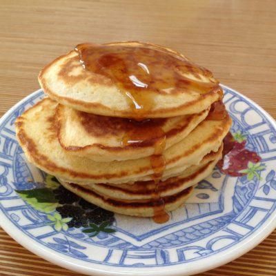 American pancakes met eigen wei