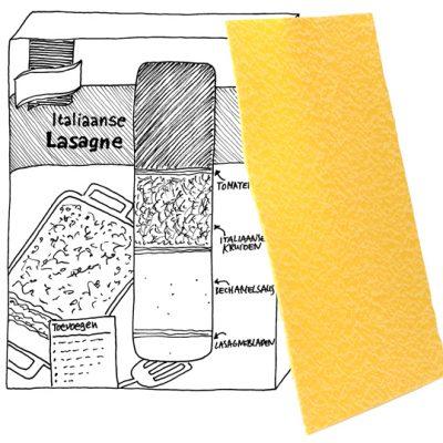 Italiaanse lasagne (voor dummies)