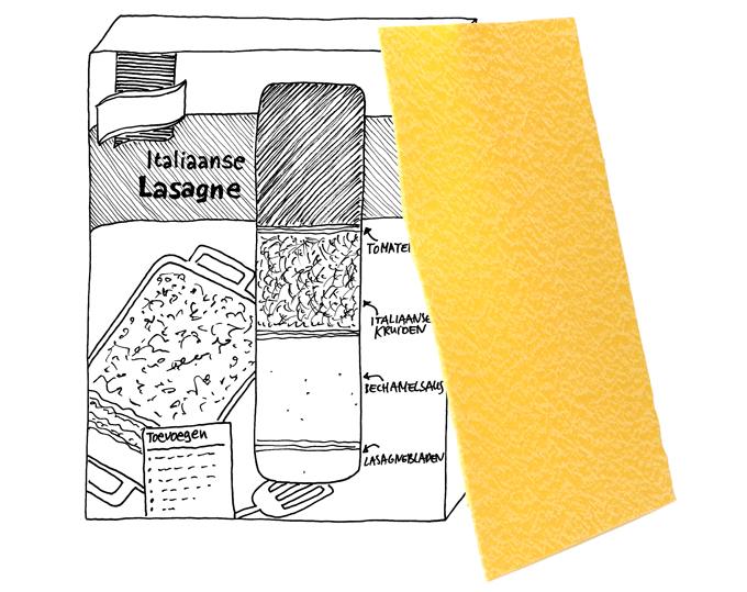 lasagne Knorr