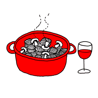 Wijn vervangen in recepten