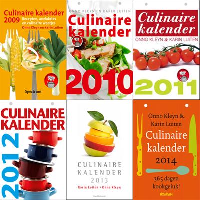 De culinaire kalender