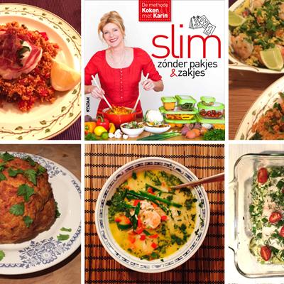 Nieuw kookboek in de maak