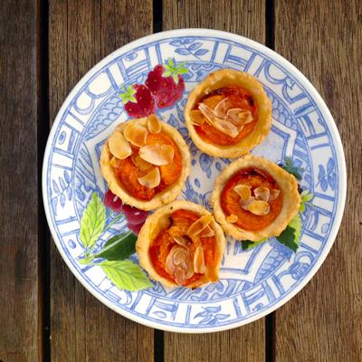 Kliekjesrecept: abrikozentaartjes