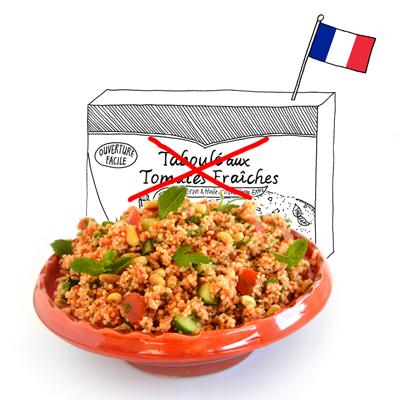 Frankrijk: tomatentaboulé