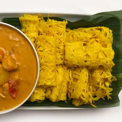 Roti jala uit Maleisië
