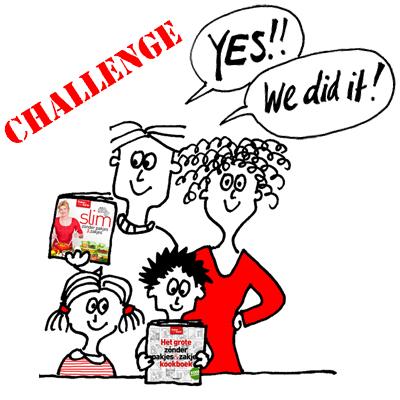Challenge (met spinazietaart)