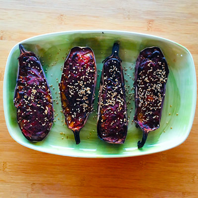 Japanse aubergines