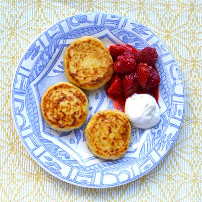 Sirniki: pannenkoekjes uit Rusland
