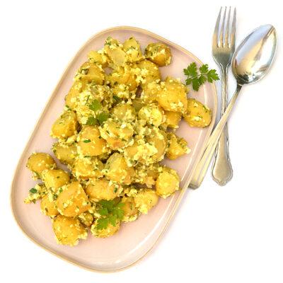 Aardappelsalade gribiche