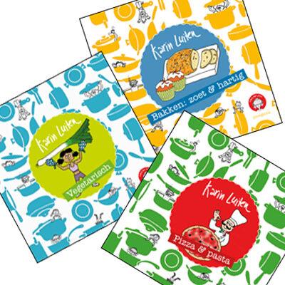 3 kinderkookboekjes