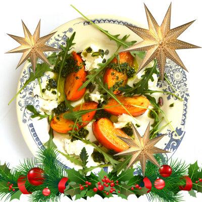 Relaxed vega kerstdiner